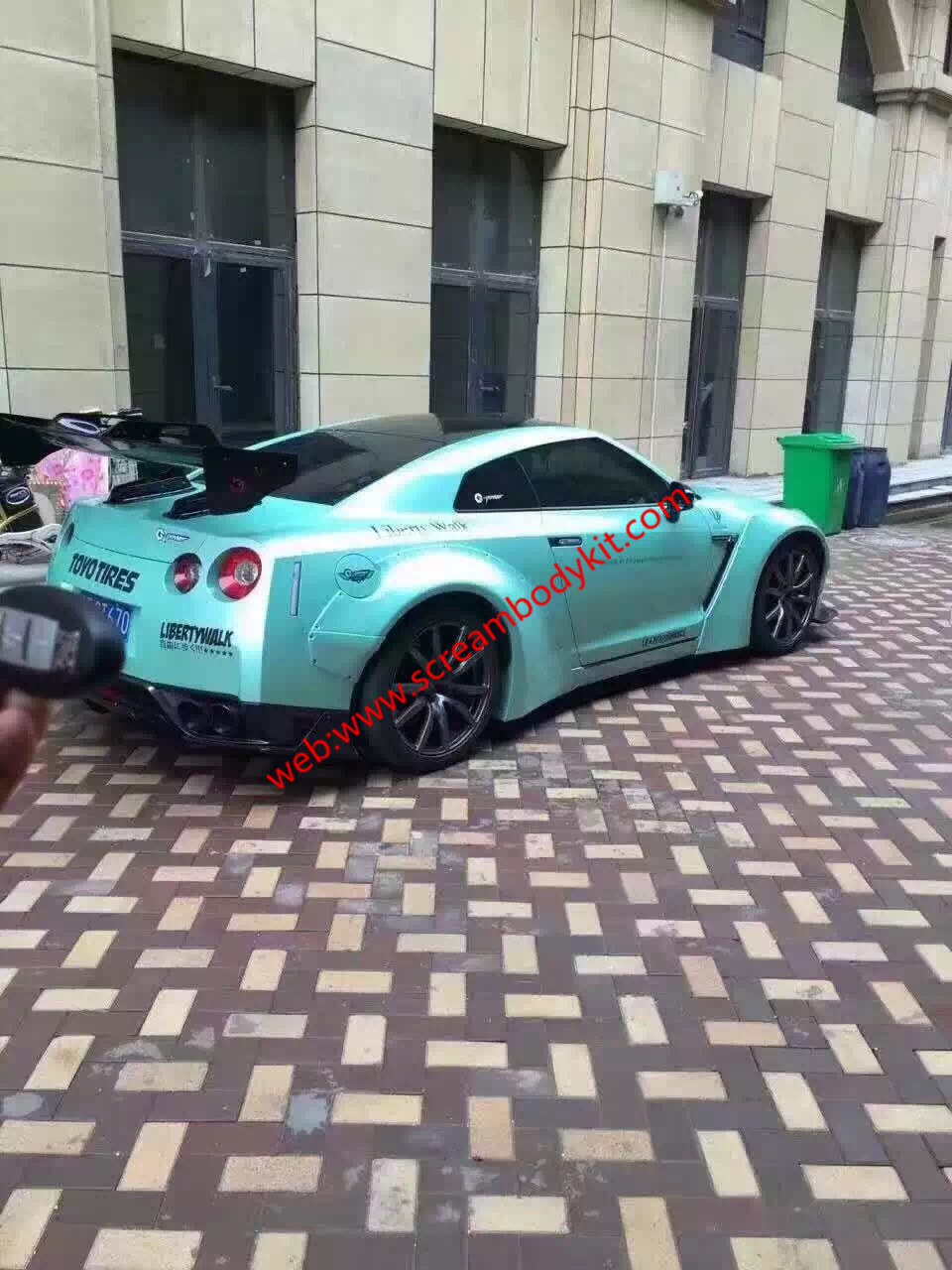 GTR wide body kit