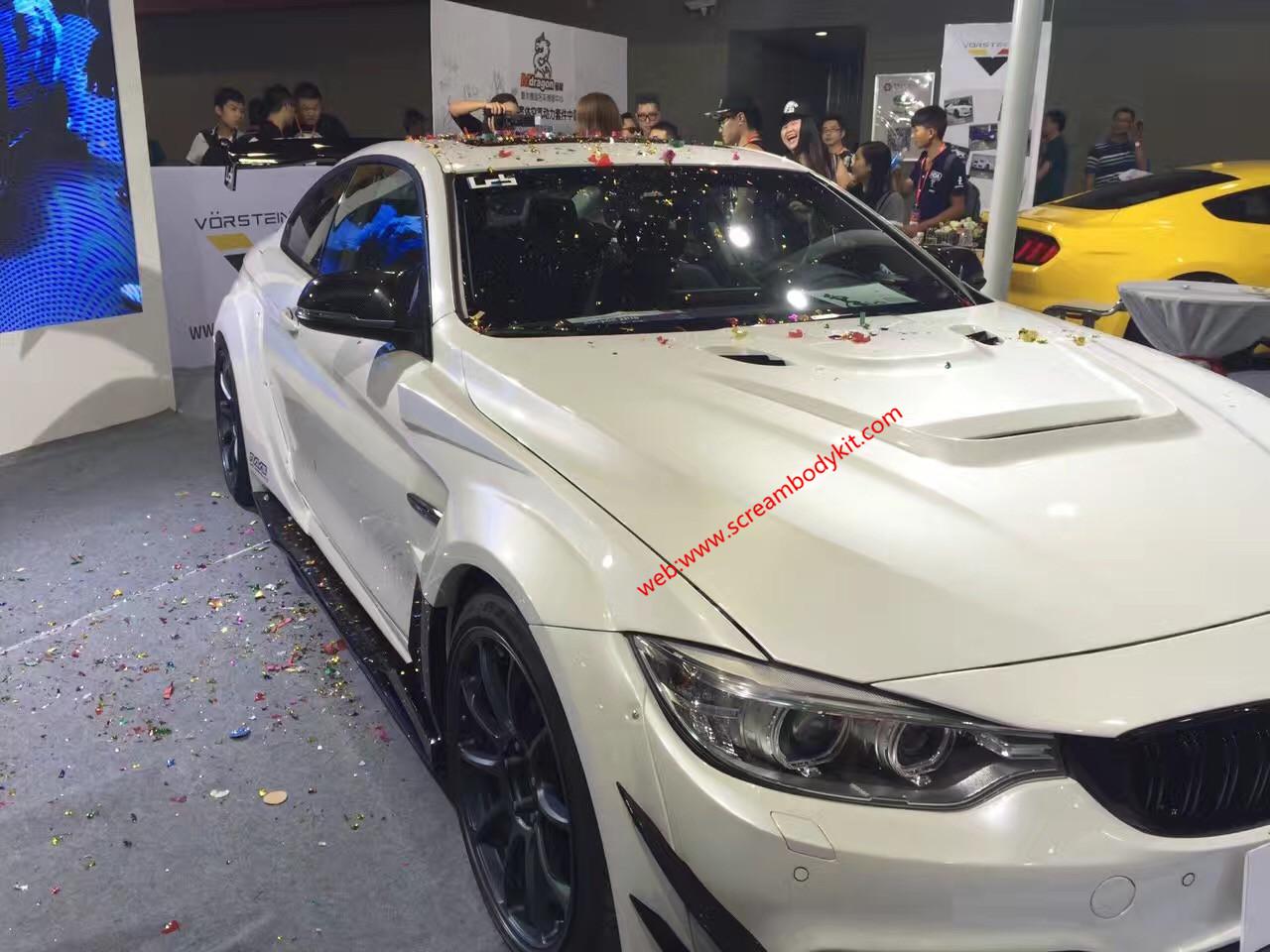 BMW 4 F32 F33 420 428li 435 wide body kit