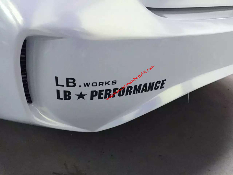 BMW 4 M4 wide body kit
