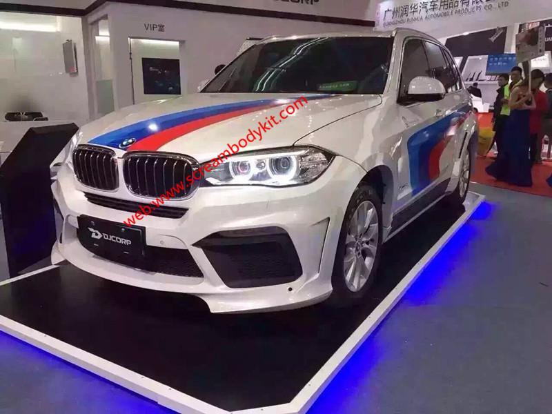 BMW X5 F15 loder body kit front bumper after bumper side skirts