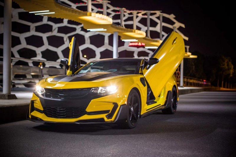 New Chevrolet Camaro 6th Update Transformers Wide Body Kit