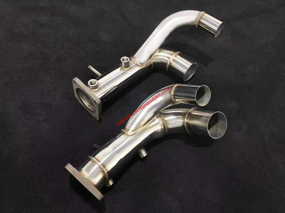 Porsche 991.2 911 GTS Exhaust Stainless steel or titanium alloy  (through pipe or Catalytic converter)