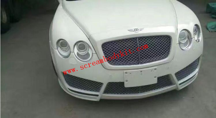 05-13 Bentley Motors Limited front bumper and led mansory
