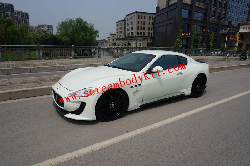 Maserati granturismo GT GTS DMC body kit front bumper after lip side skirts fenders