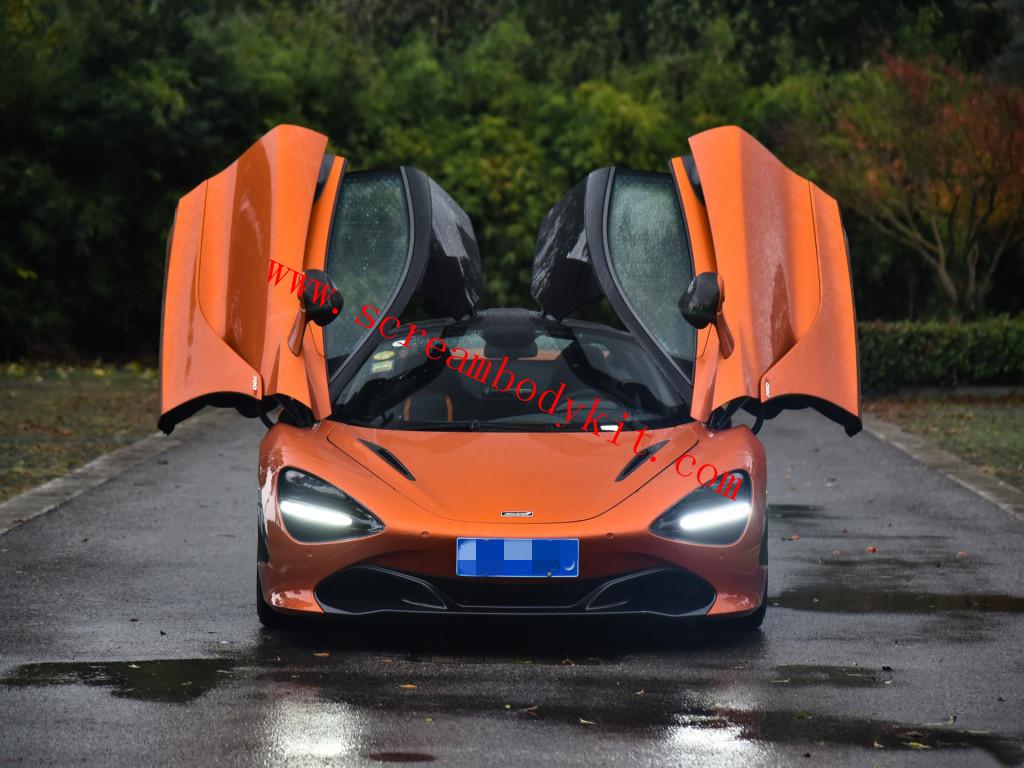 Mclaren 720S body kit OEM front lip rear lip rear bumper mirror spoiler dry carbon fiber etc