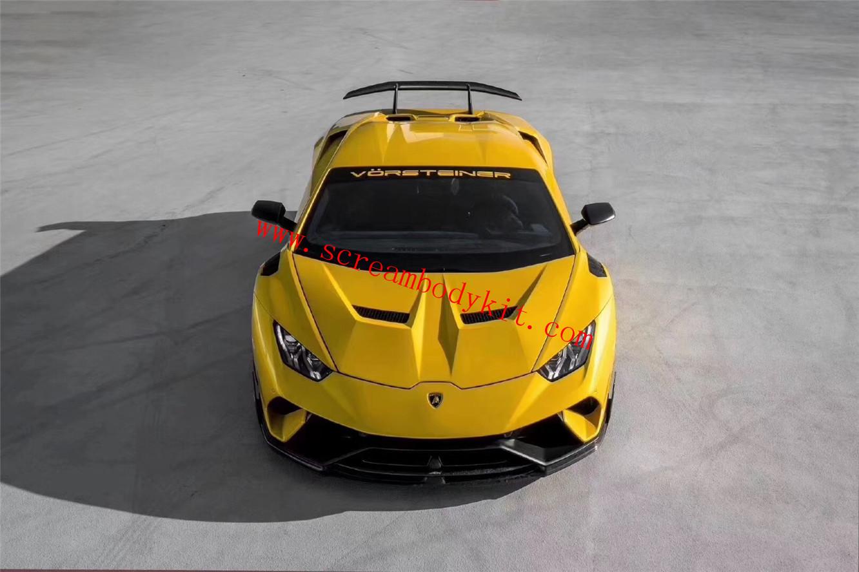 Lamborghini Huracan LP580 LP610 body kit front bumper rear bumper fenders spoiler hood