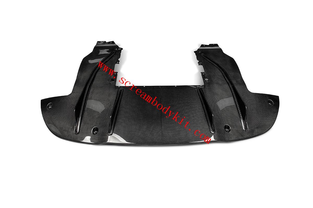 Mclaren 720S rear lip dry carbon fiber