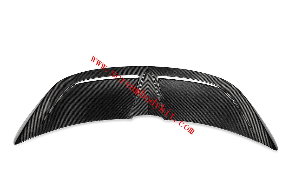 Mclaren 720s spoiler wing dry carbon fiber