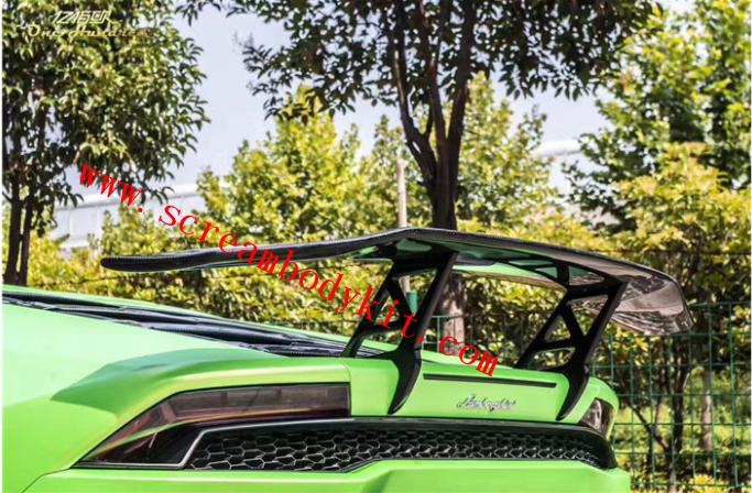 Lamborghini huracan 610 580 dry carbon fiber spoiler DMC