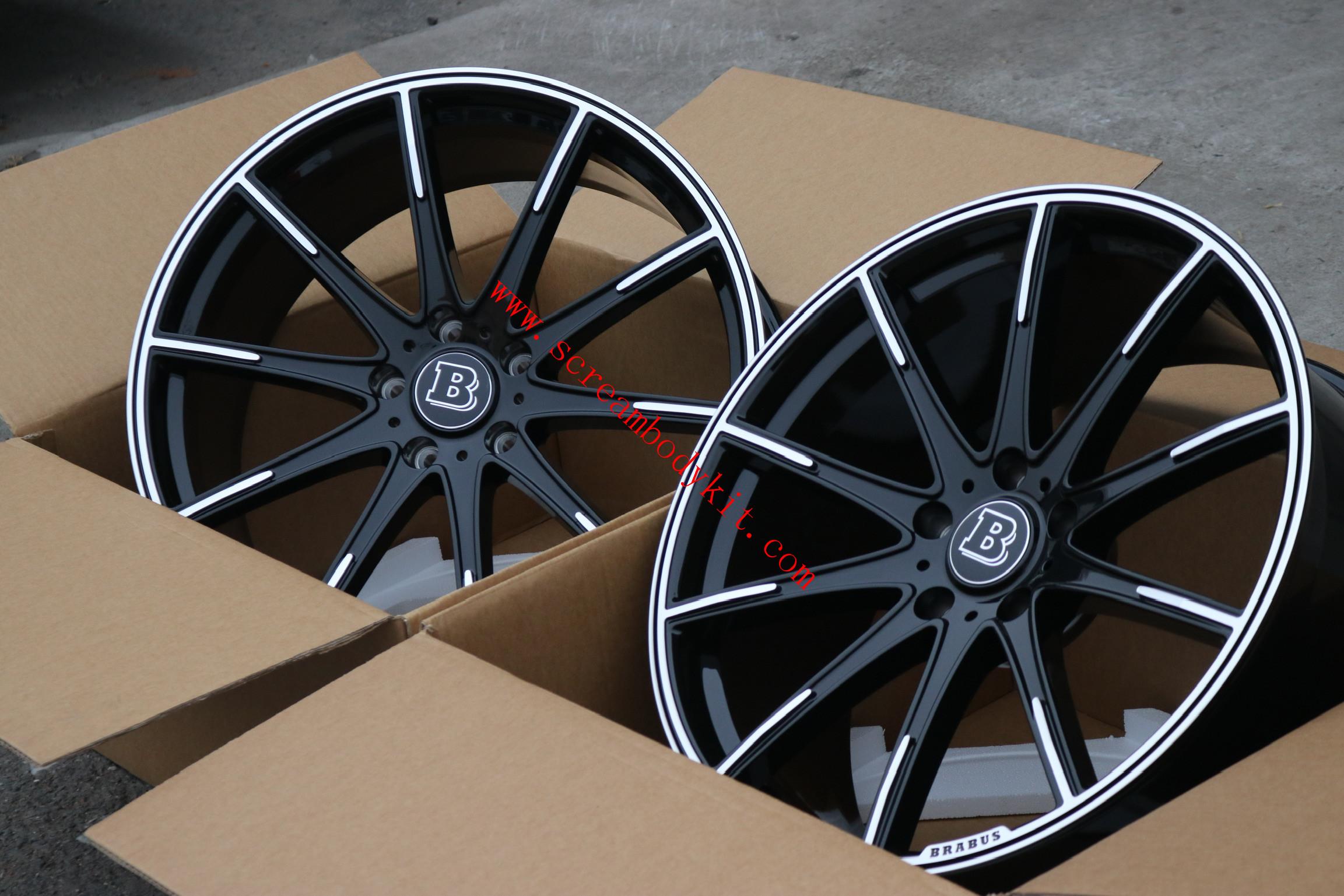 Mercedes-benz Brabus forge rims wheels 18-23 size
