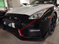 R35 GTR Nismo body kit front bumper rear bumper side skirts spoiler hood
