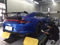 porsche 911 991 update vorsteiner body kit wing carbon fiber