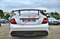 Benz C63 update black series wing Carbon Fiber