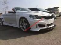 14-16 BMW4 F32/F82 wide body kit front bumper after bumper side skirts hood fenders