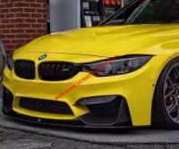BMW M3 M4 body kit front lip after lip side skirts spoiler carbon fiber
