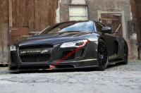 Audi R8 body kit front bumper after bumper wing hood fenders
