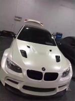 BMW E90 E92 E93 M3 wide body kit front bumper after bumper side skirts fenders sedan or coupe