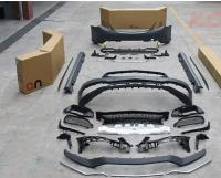 Benz w205 W204 C63AMG body kit front bumper after bumper side skirts