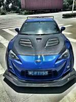 ToyotaFT86GT86FRSSUBARU BRZ Varis wide body kit front bumper after bumper spoiler hood fenders