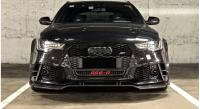 Audi RS6 ABT carbon fiber front lip