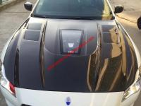 Maserati Quattroporte hood