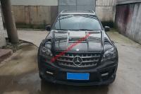 Mercedes-Benz ml350 bodykit front bumper after bumper hood