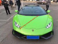 Lamborghini Huracan LP610-4 body kit front lip after lip side skirts spoiler
