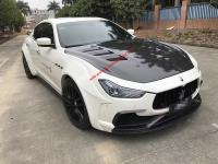 14-16 Maserati Ghibli body kit front bumpe afer bumper side skirs hood