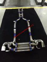 Mercedes-Benz SLS update titanium alloy valve exhaust