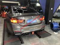 BMW M3 M4 update LED carbon fiber after lip