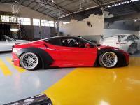 Ferrari F430 wide body kit