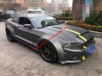 10-13 Mustang GT500 wide body kit front lip after lip side skirts fenders