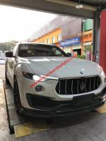 Maserati levante body kit mansory carbon fiber front lip and after lip and others