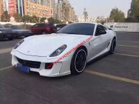 Ferrari 599 GTB Vorsteiner body kit front buper after bumper side skirts