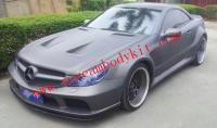 Mercedes-Benz SL body kit front bumper after bumper side skirts fenders another