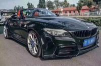 BMW Z4 E89 wide body kit front bumper after bumper side skirts