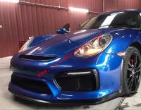 Porsche cayman 987 body kit GT4front bumper after bumper side skirts wing rear spoiler