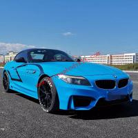 BMW Z4 E89 update M4 front bumper and ROWEN after bumper