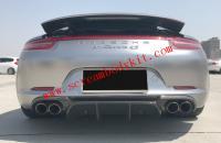 12-15 Porsche 911 991 update VORSTEINER B type carbon fiber  after lip