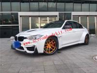 BMW F30 F35 wide body kit front bumper after bumper side skirts hood spoiler another