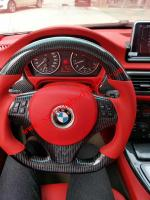 BMW x5 X6 X4 m3 m4 m2 3,4,5,6,7 Z4 Carbon fiber Steering wheel or Led Light Steering wheel