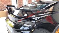 Camaro 1LE spoiler wing dry carbon fiber