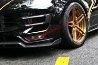 Porsche macan /macan turbo Update carbon fiber body kit front lip after lip side skirts