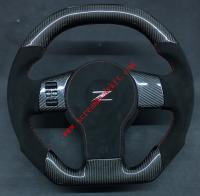 Nissan 350Z update carbon fiber steering wheel or Can add LED