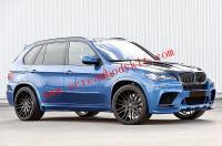 08-14 BMW E70 X5 update HAMANN body kit front bumper after bumper side skirts fenders