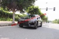 BMW x5 wide body kit front bumper after bumper side skirts fenders lumma