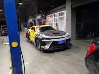 New Chevrolet Camaro 6th update  wide body kit front bumper after bumper hood wing side skirts Three style