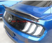 15-18 mustang update carbon fiber spoiler wing