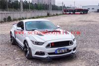 15-17 mustang wide body kit type.4 front lip fenders after lip hood