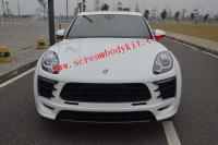 New porsche macan wide body kit front bumper front lip side skirts after lip fenders